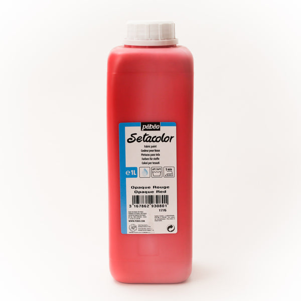 Setacolor Opaque 1000 ml Red 80
