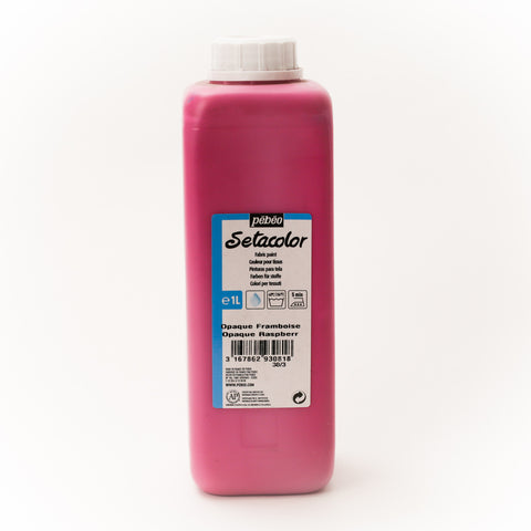 Setacolor Opaque 1000 ml Raspberry 81