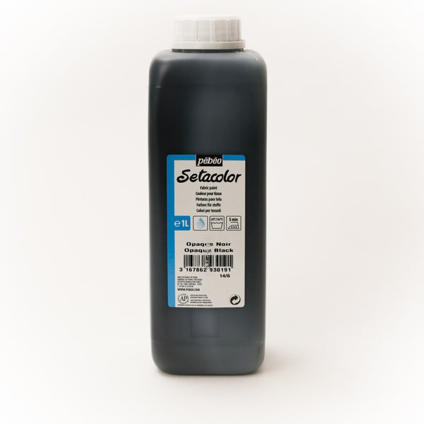 Setacolor Opaque 1000 ml Black 19