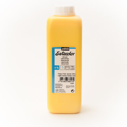 Setacolor Transparent 1000 ml Lemon Yellow 17