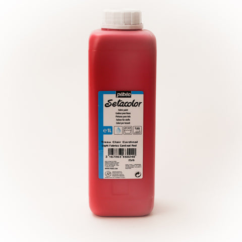Setacolor Transparent 1000 ml Cardinal Red 24