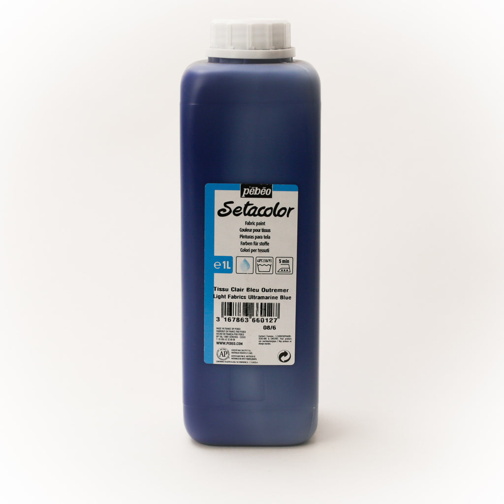 Setacolor Transparent 1000 ml Ultramarine 12