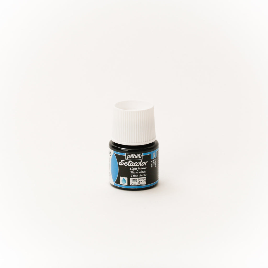 Setacolor Transparent 45 ml Black 19