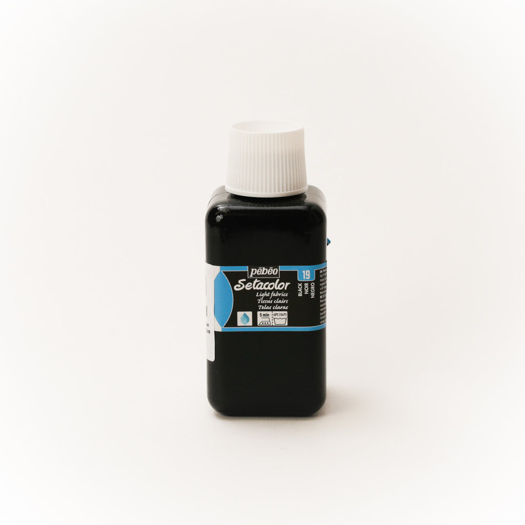 Setacolor Transparent 250 ml Black 19