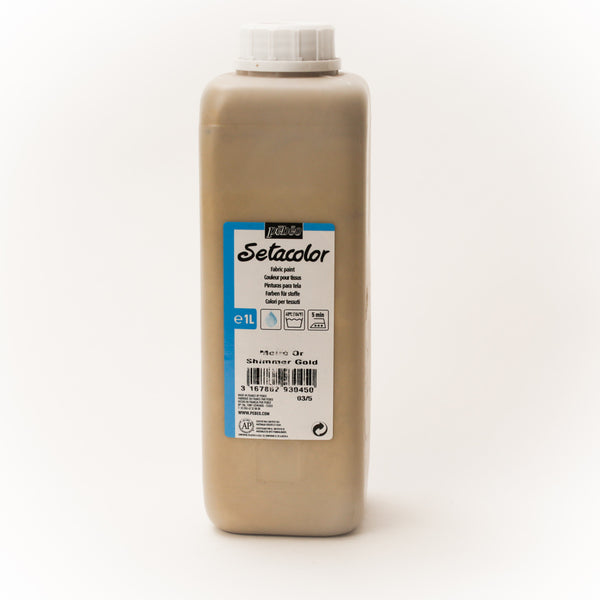 Setacolor Shimmering 1000 ml Gold 45