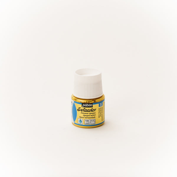 Setacolor Shimmering 45 ml Rich Yellow 36