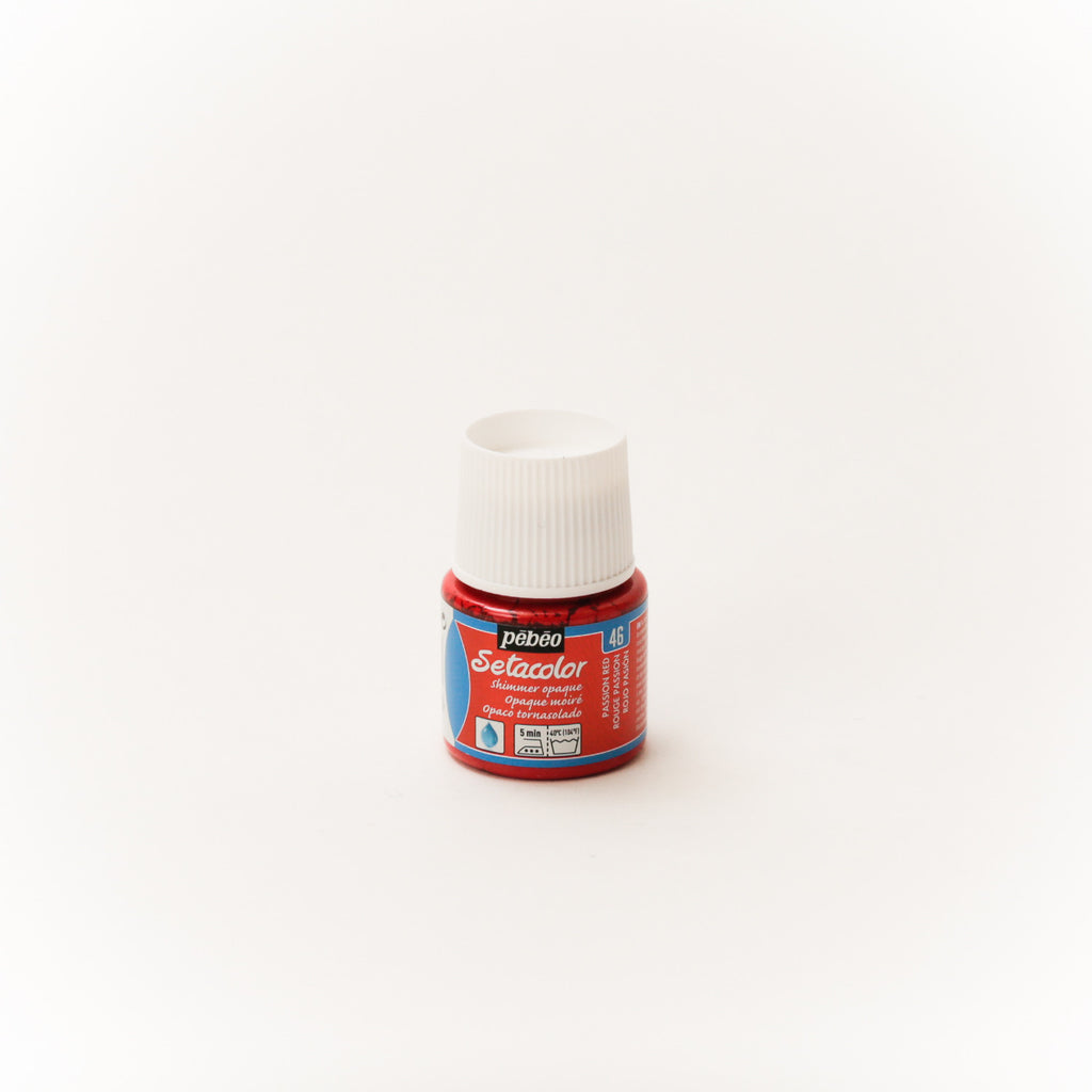 Setacolor Shimmering 45 ml Passion Red 46