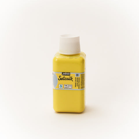 Pebeo Setasilk 250ml (8.5 oz) Primary Yellow #1