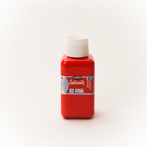 Pebeo Setasilk 250ml (8.5 oz) Poppy Red #5