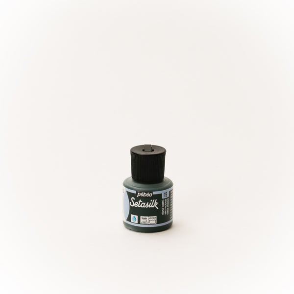 Pebeo Setasilk 45ml (1.5 oz) Moss Green #19