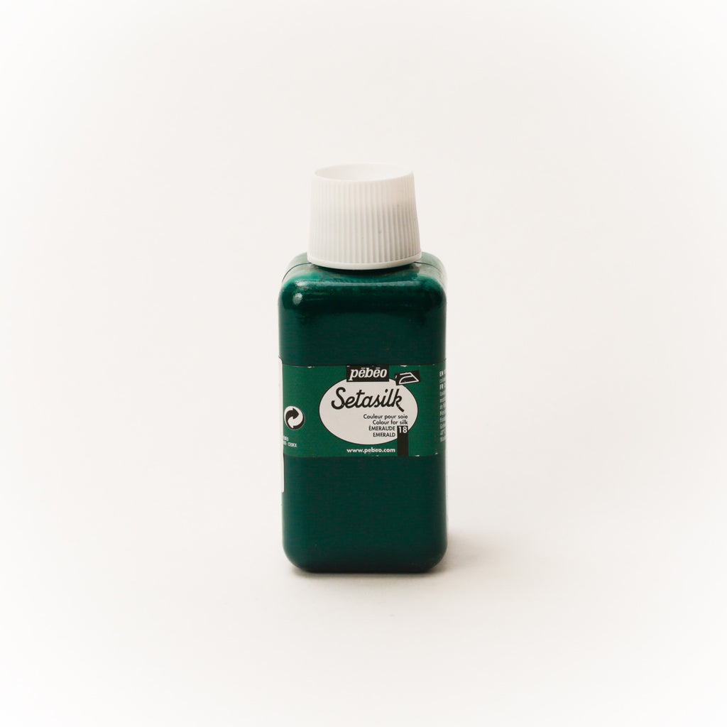 Pebeo Setasilk 250ml (8.5 oz) Emerald #18