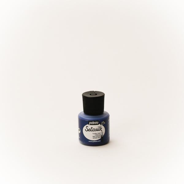 Pebeo Setasilk 45ml (1.5 oz) Gitane Blue #12
