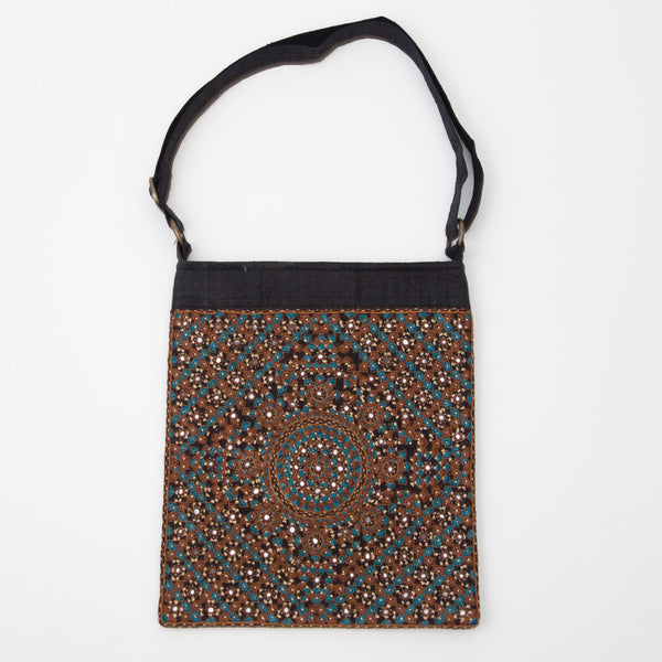 Kachchh Embroidery - Double Sided Shoulder Bag - Pattern 2