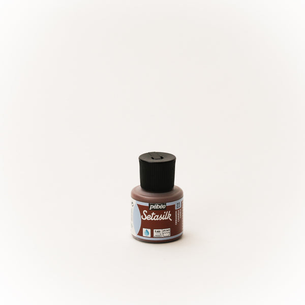 Pebeo Setasilk 45ml (1.5 oz) Cinnamon #23