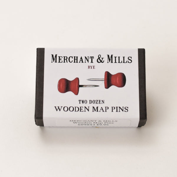 Pins - Wooden Map
