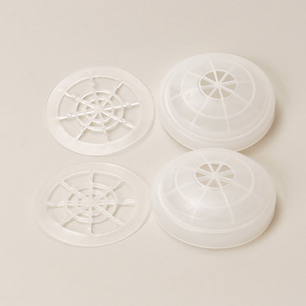 North Respirator Pre-Filter Retainers Only