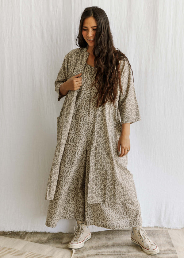 natural organic cotton naturally dyed handwoven clothing slowclothes Sustainable fashion sewn and designed by Maiwa Handprints