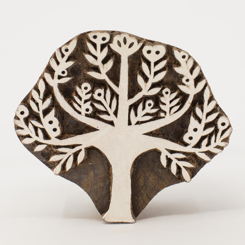 Wood Block - Tree