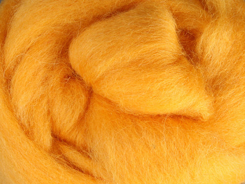 Wool Corriedale Roving - Cheesecake 50g
