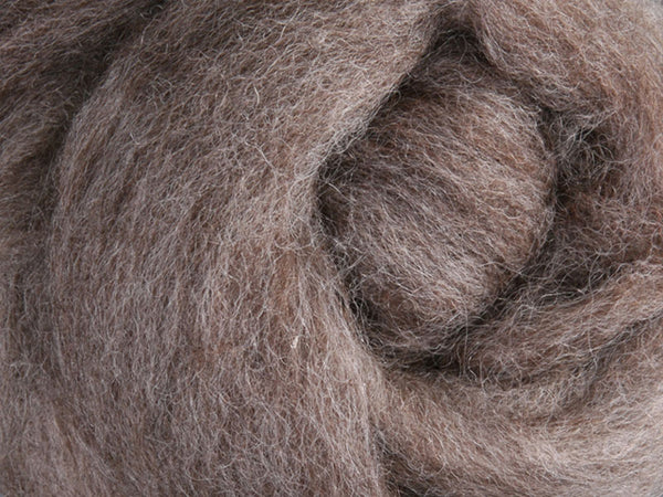 Corriedale Roving - Natural Medium 50g