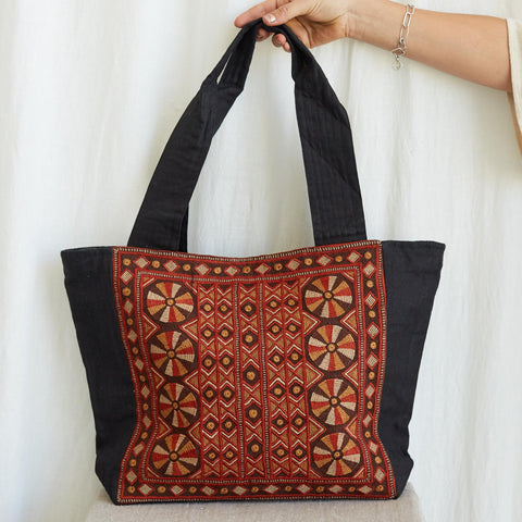 Kachchh Embroidery - Carry Bag - Pattern A