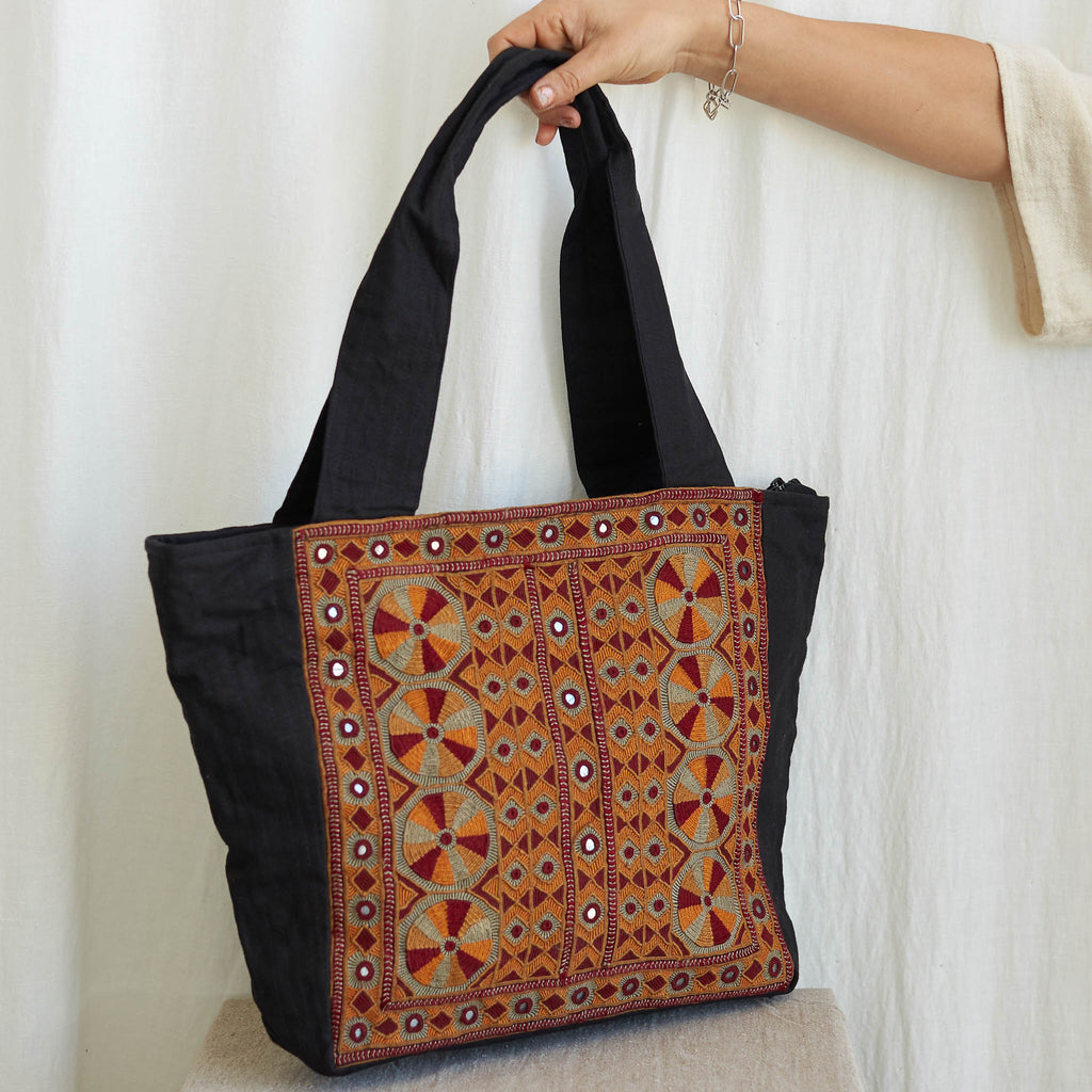 Kachchh Embroidery - Carry Bag - Pattern B