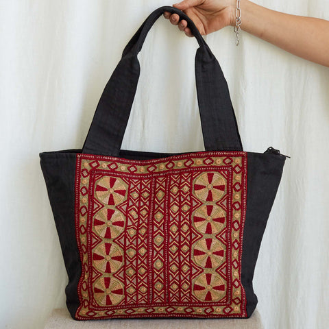Kachchh Embroidery - Carry Bag - Pattern C