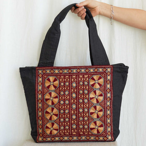 Kachchh Embroidery - Carry Bag - Pattern D
