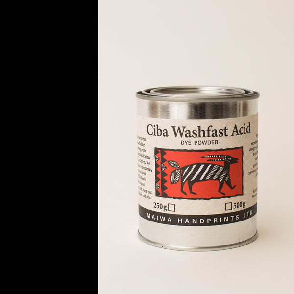 Ciba Washfast Acid Dye 250g (8.9 oz) black