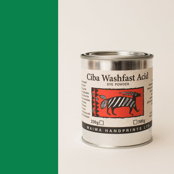 Ciba Washfast Acid Dye 250g (8.9 oz) green