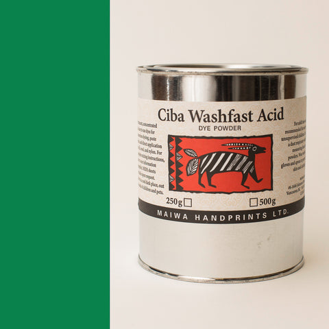 Ciba Washfast Acid Dye 500g (17.9 oz) green