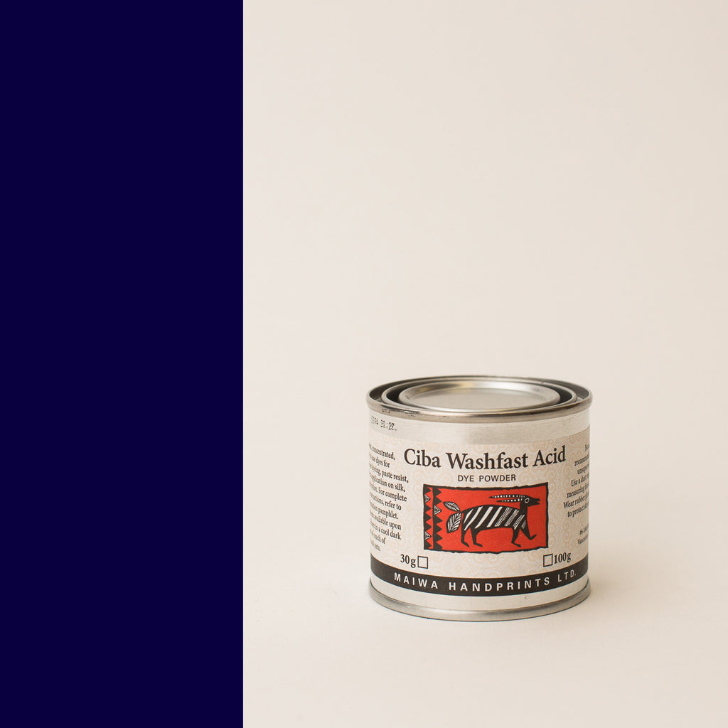 Ciba Washfast Acid Dye 30g (1.1 oz) navy