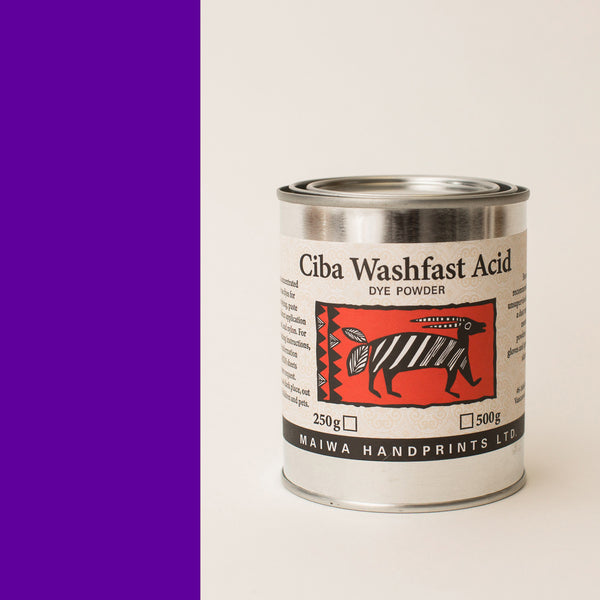 Ciba Washfast Acid Dye 250g (8.9 oz) purple
