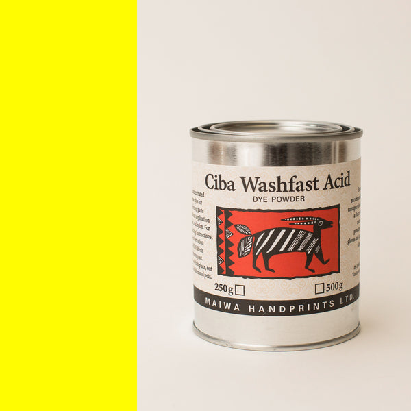Ciba Washfast Acid Dye 250g (8.9 oz) yellow