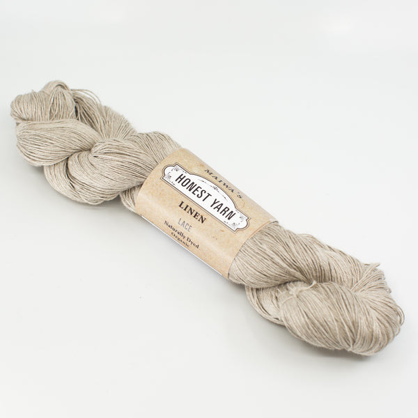 Honest Yarn - Organic Linen - Natural Undyed