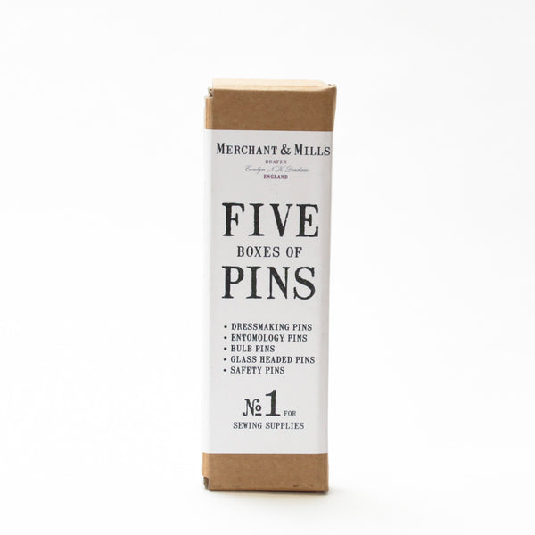 Pins - Five Box Set