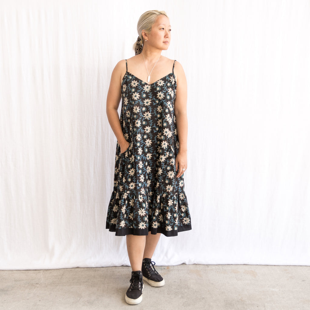 Bengal Dress - Indigo Jasmine