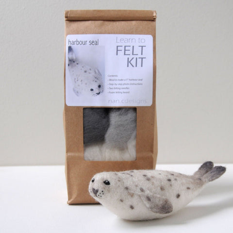 Learn to Felt Kit - Harbour Seal