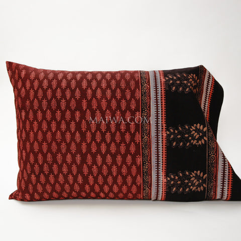 Pillow Case Dabu Print Red