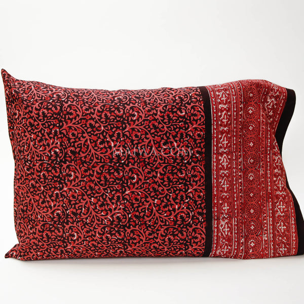 Pillow Case Dabu Print Lac