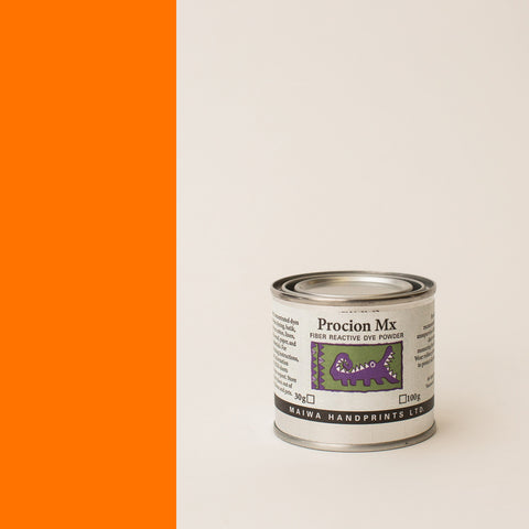 Procion MX Orange 30g (1.1  oz)