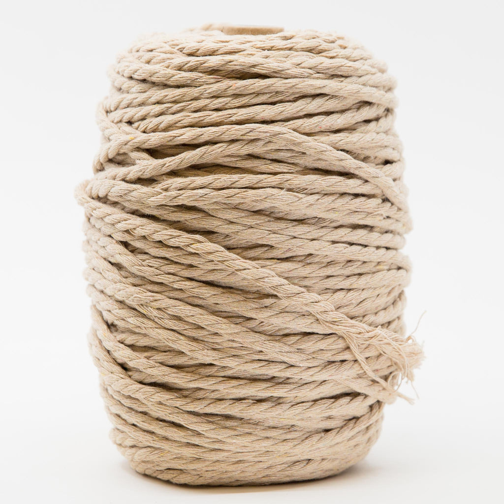 Recycled Cotton Rope - Sand 1kg
