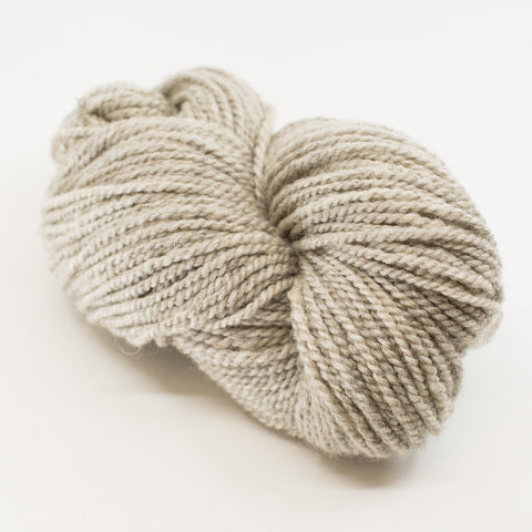 Wool 'Romney' by Solitude Yarn - Natural Grey