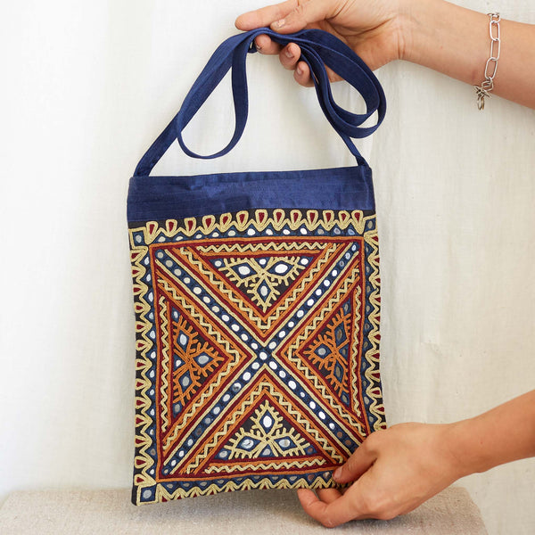 Kachchh Embroidery - Shoulder Bag - Pattern C