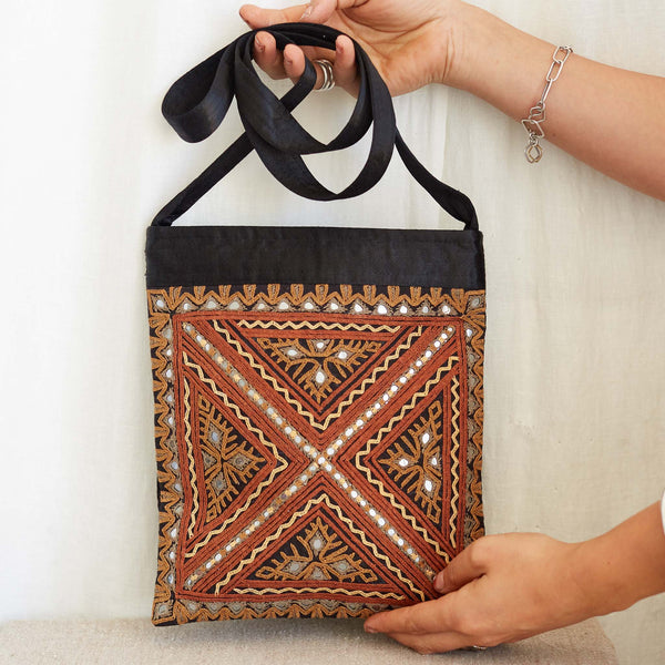 Kachchh Embroidery - Shoulder Bag - Pattern D
