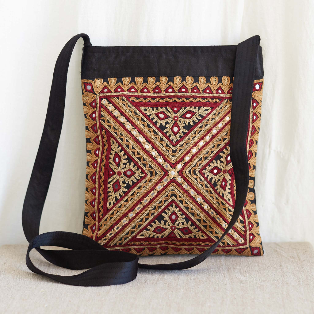 Kachchh Embroidery - Shoulder Bag - Pattern B