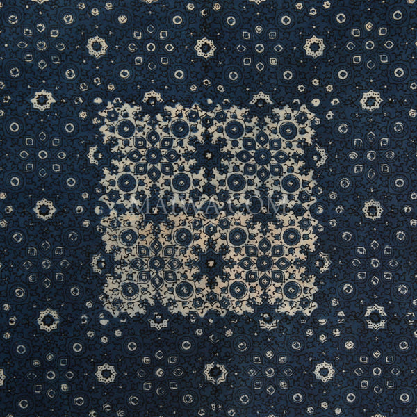Organic Cotton Tablecloth - Ajrakh Crystallized