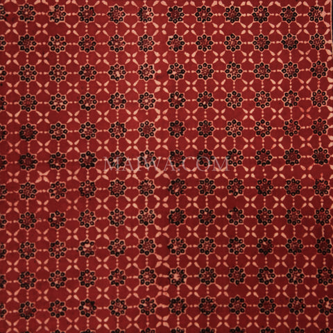 Organic Cotton Tablecloth - Ajrakh Madder