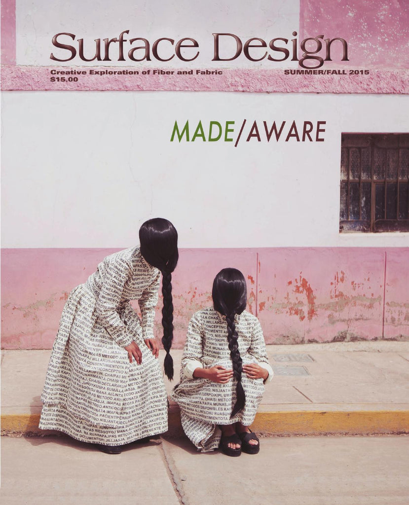Surface Design Journal - Made/Aware