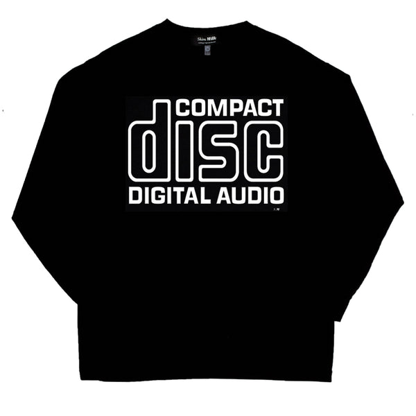 COMPACT DISC long sleeve t-shirt
